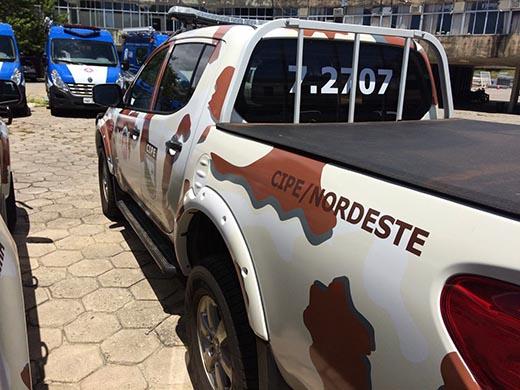 Cipe Nordeste apreende armas e drogas em Ribeira do Pombal e Quijingue