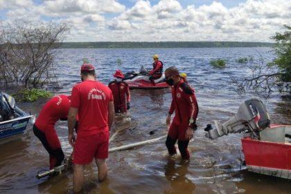 Tragédia: Bombeiros localizam últimos dois corpos de pessoas que sumiram após embarcação virar no Rio Paraguassu