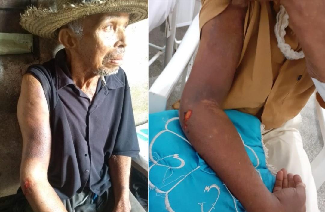 Família pede ajuda na regulação de idoso em estado grave no Hospital em Teofilândia