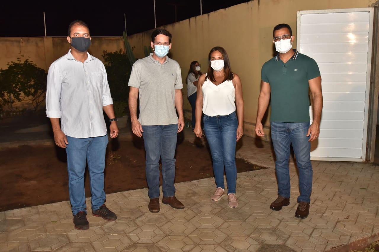 Araci: Em Brasília, Keinha participa de posse do novo Ministro da Cidadania, João Roma