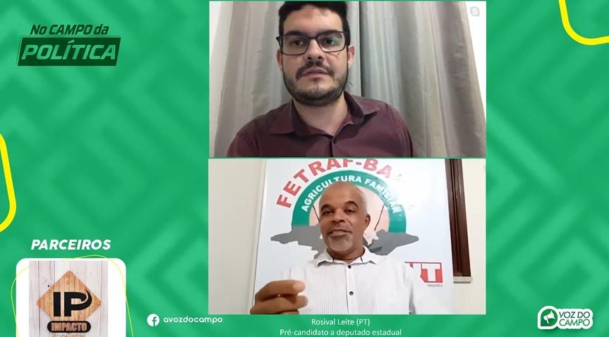 """Ao vivo: Rosival Leite critica gestão Keinha em Araci; """"não tem nada andando. Tá tudo parado. Eu torço que melhore"""""""