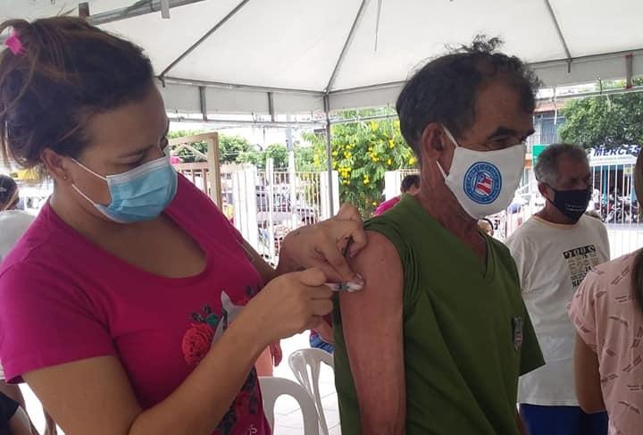 Araci já aplicou mais de 10 mil doses da vacina da covid-19
