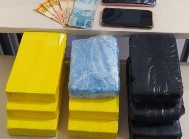 PM prende 3 mulheres em ação que apreendeu cocaína avaliada em R$ 500 mil na Bahia