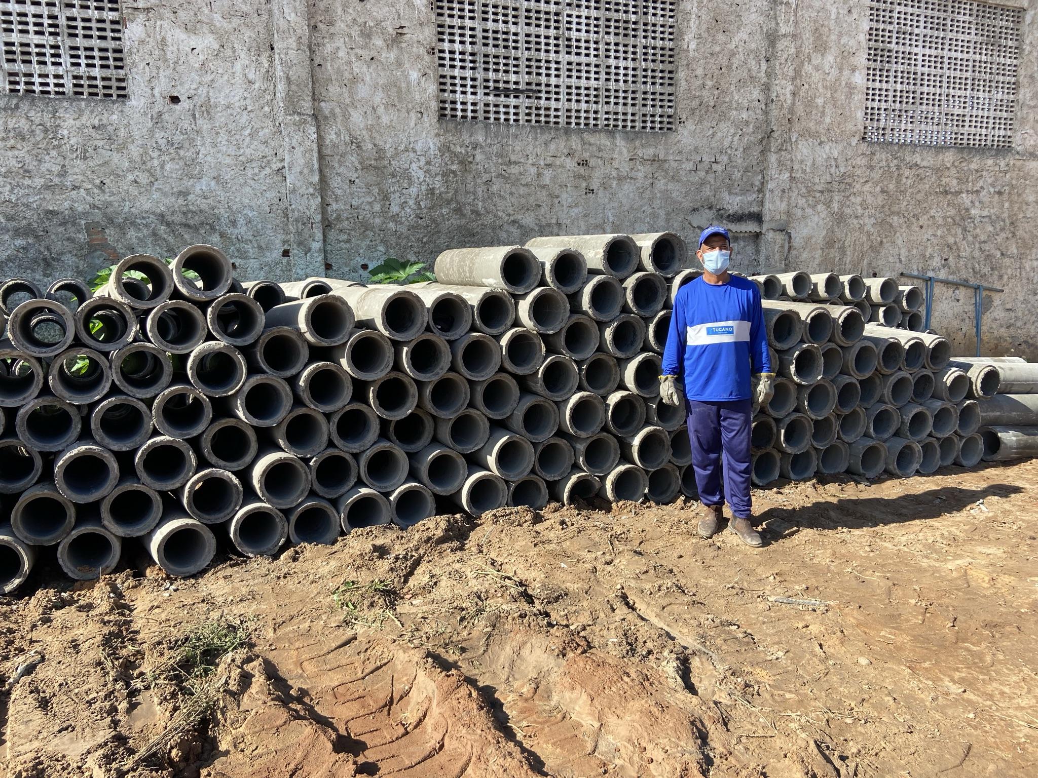 Rede de esgoto e sistema de entrega de água potável serão ampliados em Tucano