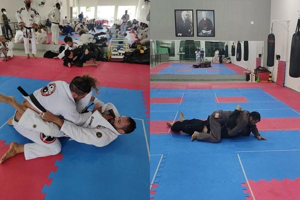 Esporte na região: Atleta araciense e serrinhenses participam de evento internacional de Jiu-Jitsu